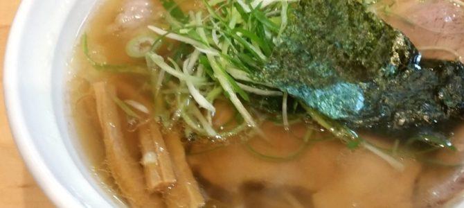 大阪麺哲 醤油雲呑