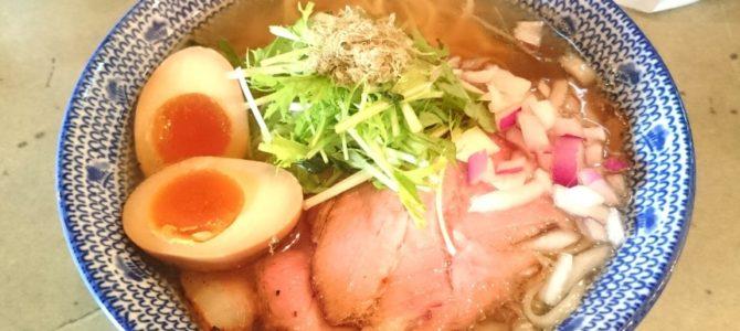島田製麺食堂 あご味玉そば