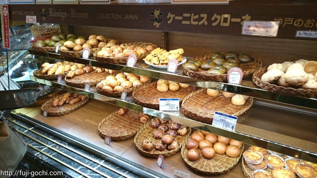色々な食べ放題のパン
