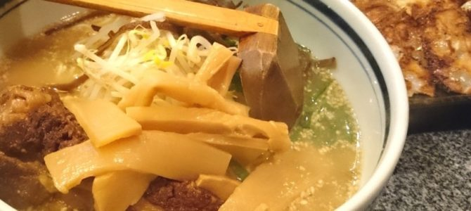 ラーメン日本 豚骨メンマラーメン