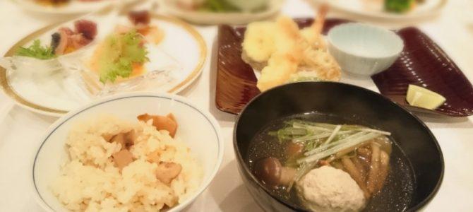太閤園 松茸&秋の味覚ビュッフェ