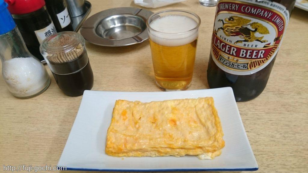 卵と私とキリンビール