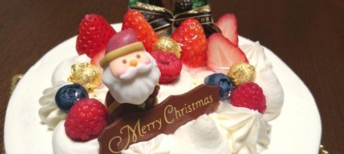 「大人も子供も男爵も」- 太閤園のクリスマスケーキ ジョワイユ・ノエル