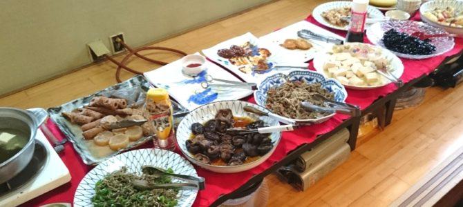 「満たすもの、満たされるもの」- 家庭料理 さち お昼のバイキング