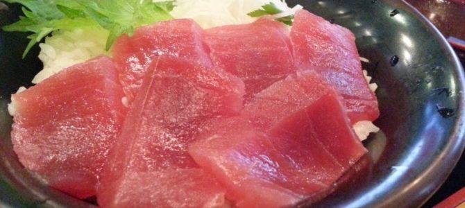 「美味しい海鮮、オイシイ価格」- 梅田芝田1丁目まぐろや マグロ丼