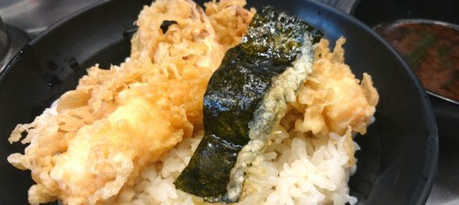 「狭小老舗のスマート天丼」- 坂町の天丼 天丼