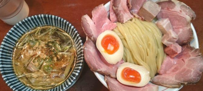 「うま肉エクスタシー。」- 麺食堂88 特製つけそば チャーシュー増し