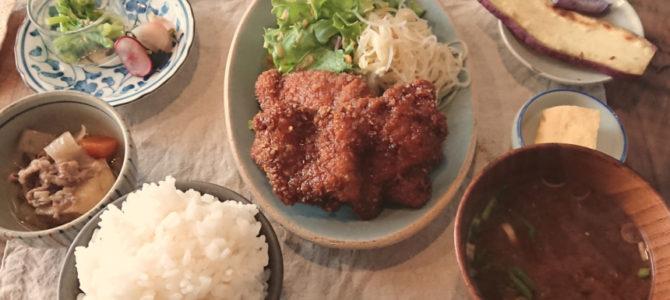 「セピアモダンの街角」umi食堂 週替わり定食