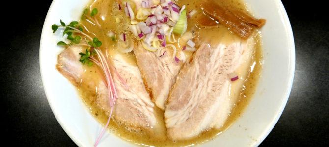 「脳汁引き出す系鶏塩ラーメン」ラーメン  NewYork × NewYork ニューヨークソルト
