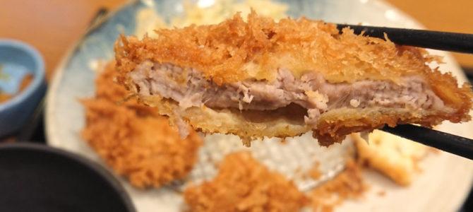 「未完の定食」いなば和幸 野田阪神店 ひれかつと帆立のクリームコロッケ定食